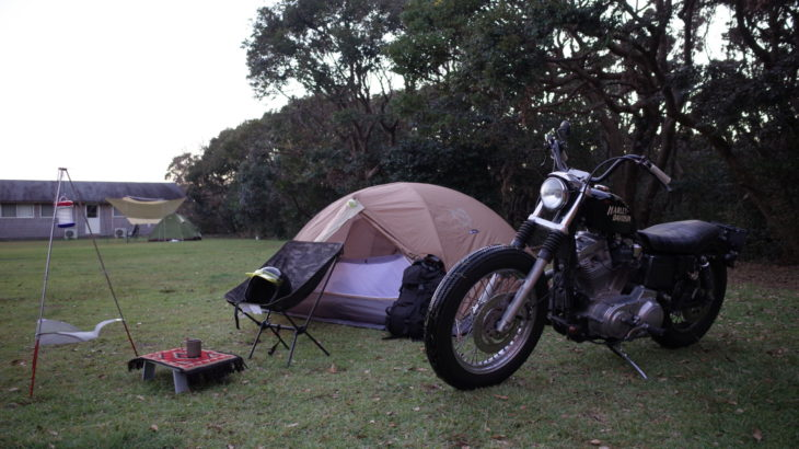 ハーレー883でキャンプツーリングin和歌山紀伊大島
