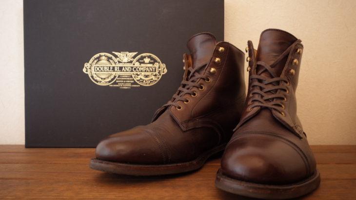 【愛用品紹介003】RRL Livingstone Boots