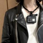【ハーレーでモトブログ】ハーフヘルメット着用時のGoPro撮影方法
