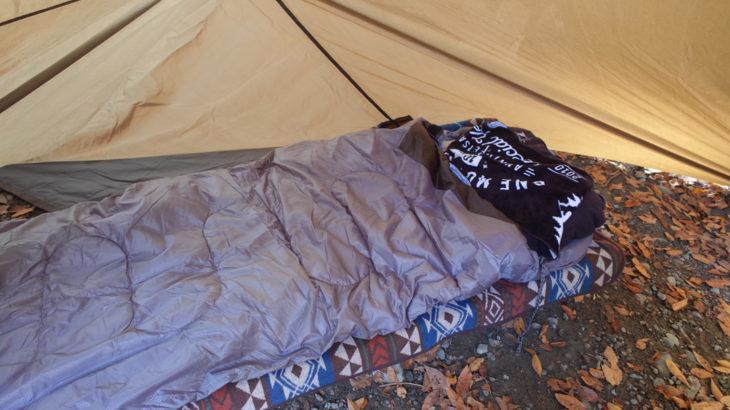 冬キャンプの極暖革命アイテム『電熱シュラフ』 タープ泊にもオススメ